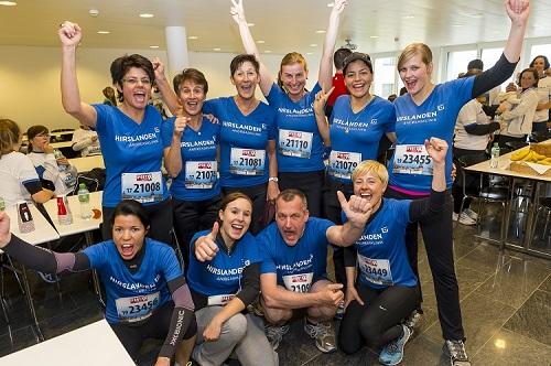 Zehn Läufer der AndreasKlinik