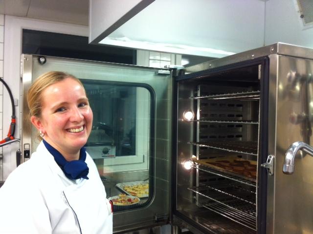 Simona Deola, Küchenchefin der Hirslanden Klinik Belair