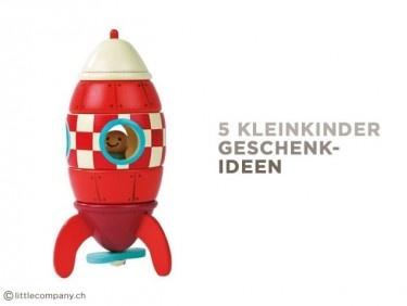 Die top 5 Kleinkinder-Spielzeuge: Geschenkideen vom Zelt bis zur Rakete
