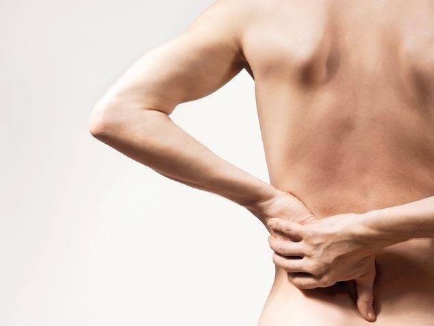 schmerzender Rücken