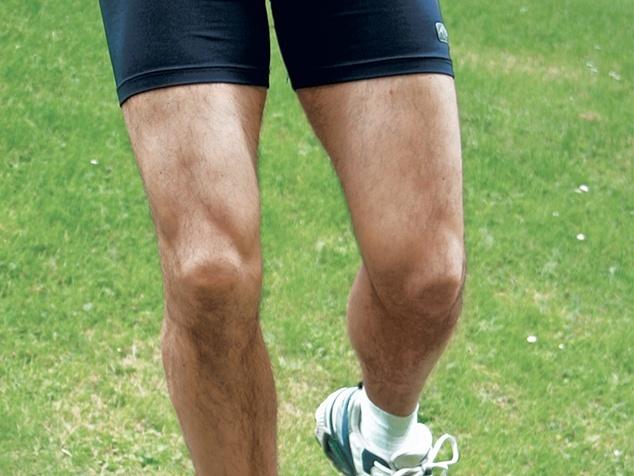 Knie beim Sport