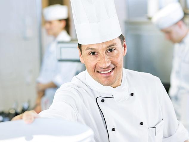 Küchenchef Lukas Ochser