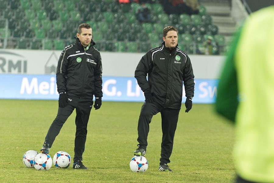 Hirslanden Physiotherapeuten im Einsatz beim FC St.Gallen