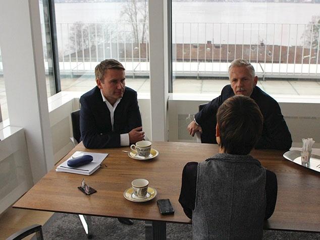 Daniel Liedtke und Ole Wiesinger im Interview