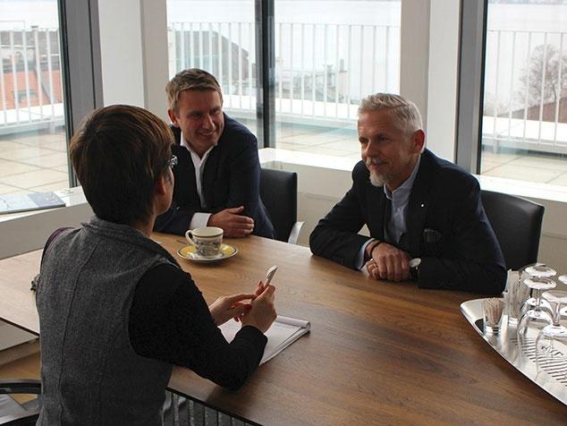 Ole Wiesinger und Daniel Liedtke im Interview