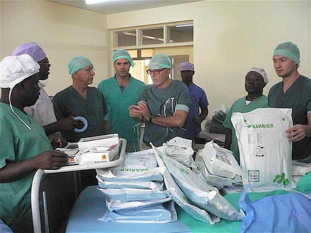 Ärzte im Einsatz in Kamerun