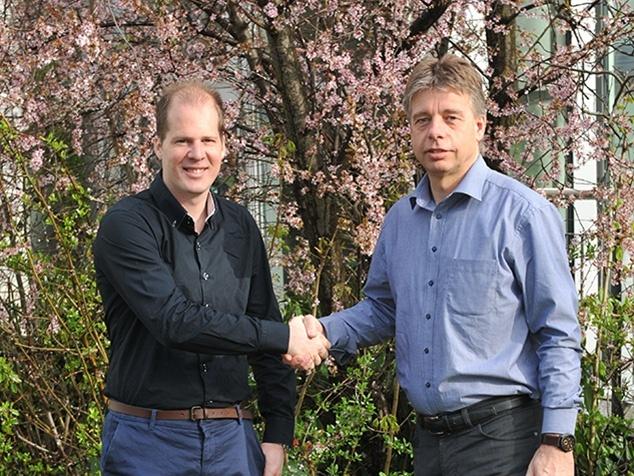 Ivan Gattlen und Uwe Meier