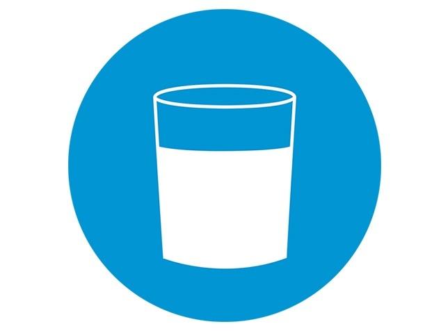 verre de l'eau