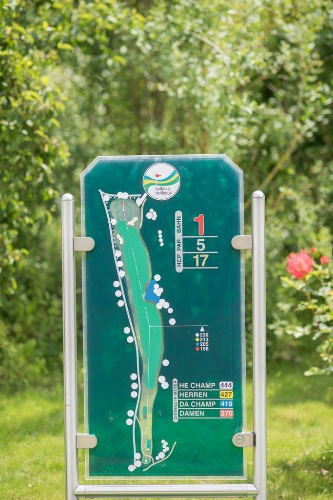 Plan Golfplatz