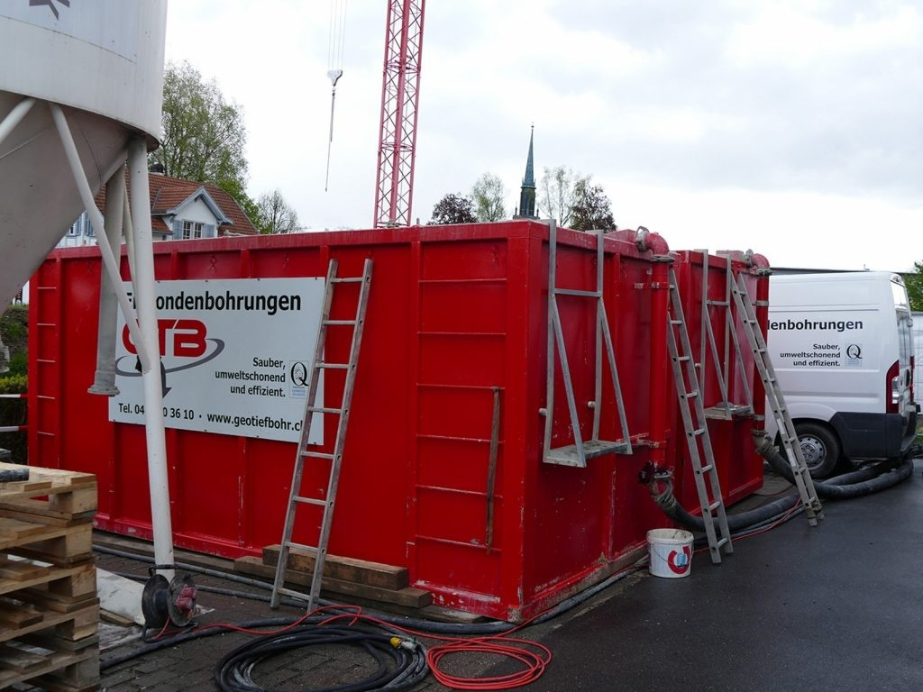 Bohrschlammcontainer