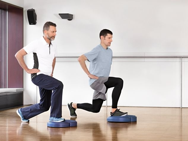 Physio training avec patient cardiaque
