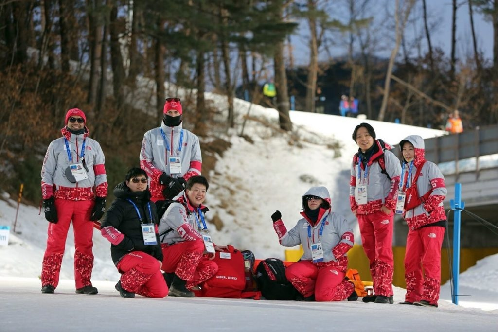 IOC Ärzteteam am Field of Play
