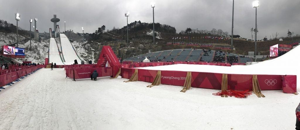 Olympia Skispring-Schanze
