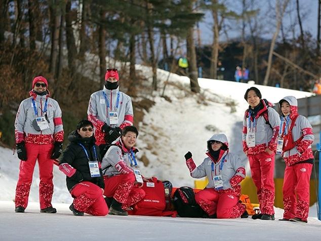 IOC Ärzteteam bei Olympia