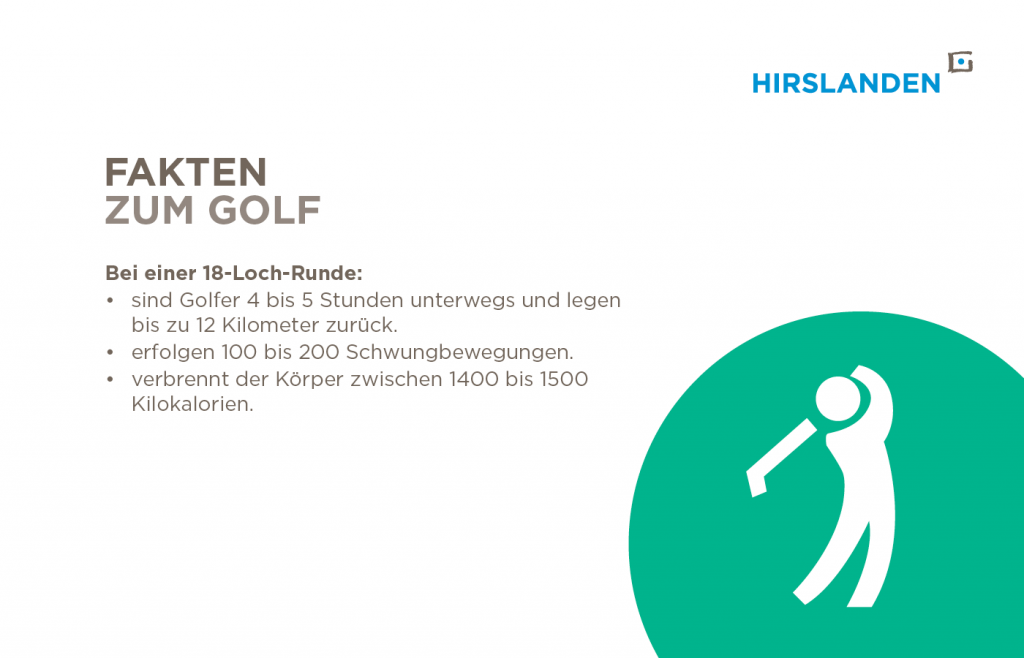 sportliche Fakten zu Golf