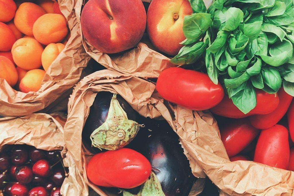 Früchte Antioxidantien bei Psoriasis