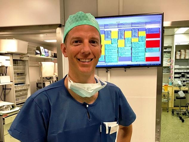 Daniel Engel, Leiter OP Hirslanden Klinik Im Park
