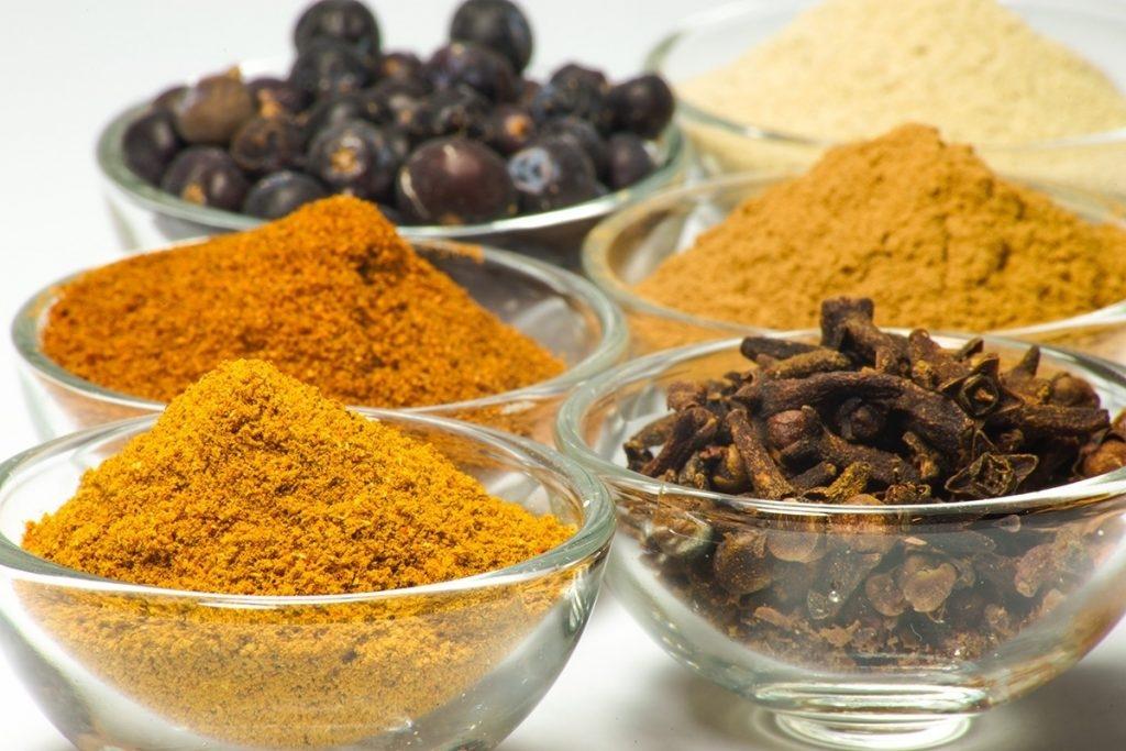 Épices avec effet anti-inflammatoire