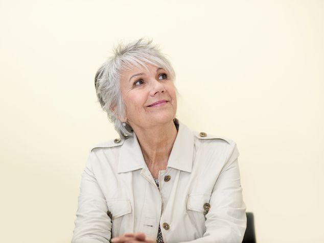 Frau in der Menopause