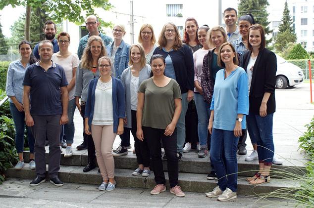 Berufsbildner und Ausbildungsverantwortliche der Klinik Hirslanden