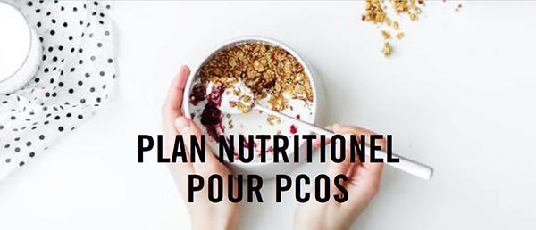 plan nutritionel pour SOPK