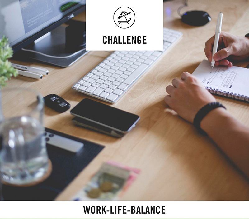 Titre work life balance challenge