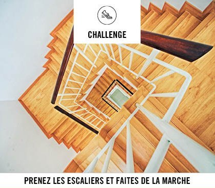 Couverture Challenge du mouvement