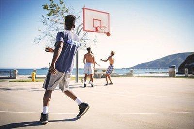 Leute Basketball