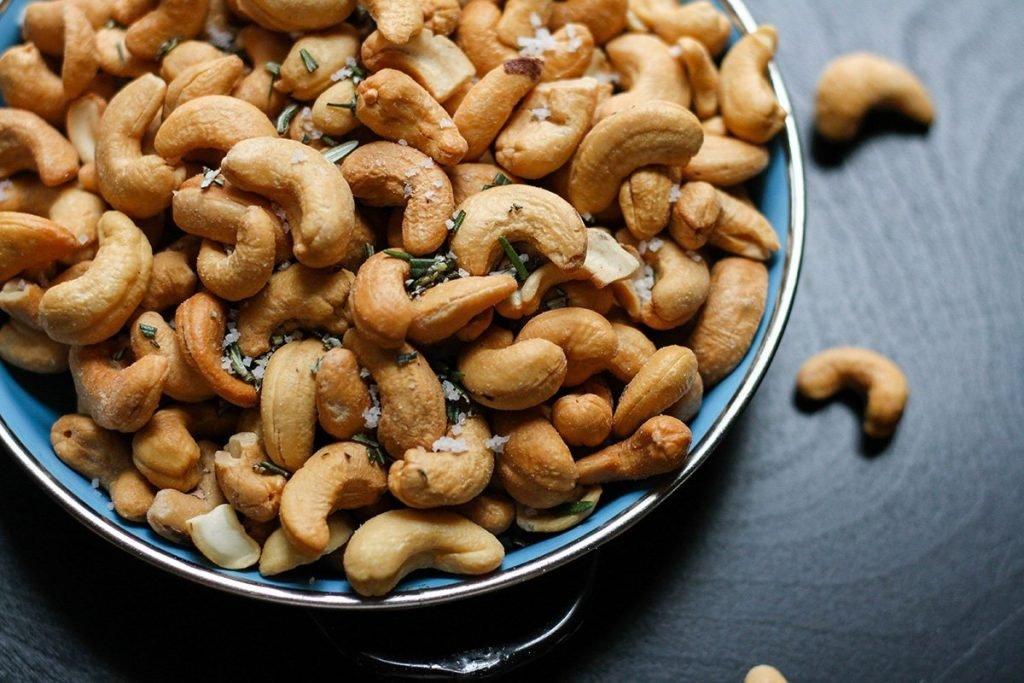 geszalzene Nüsse