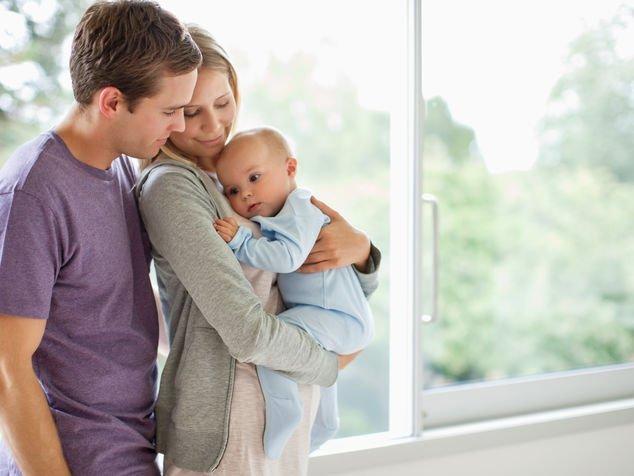 Eltern mit Baby
