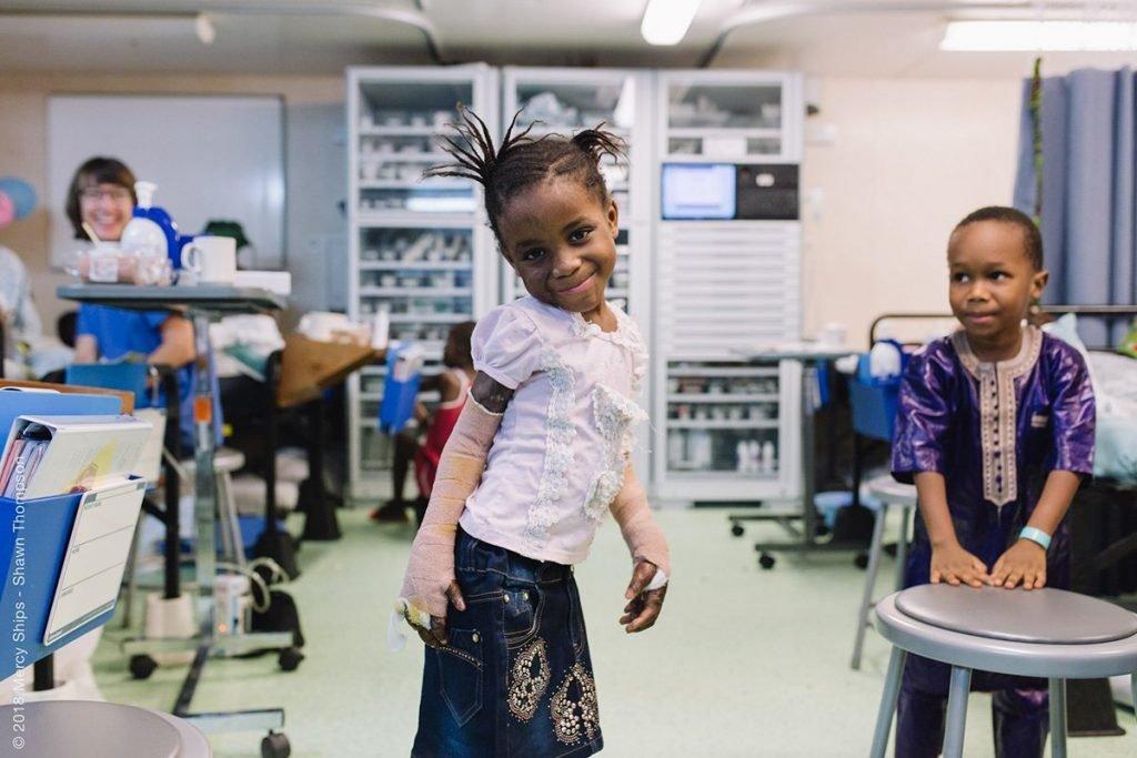 enfants comme patients