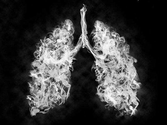 rauchende Lunge