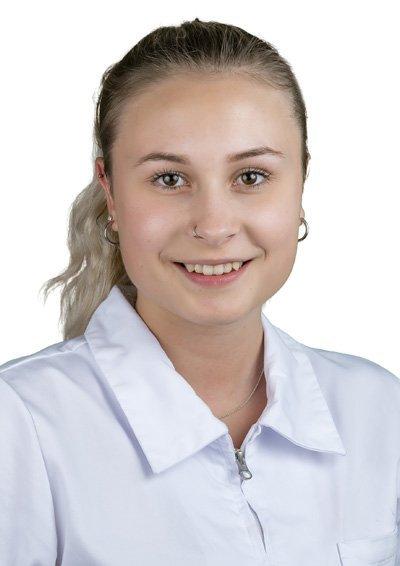 Samira Bucher, ausgelernte Fachfrau Gesundheit EFZ (FaGe)