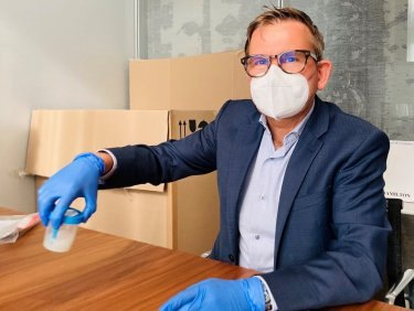 Daniel Liedtke eröffnet Testkampagne im Corporate Office